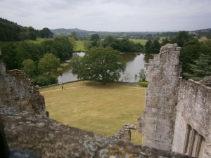 Part of Wardour Park from the Old Castle.