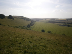 White Sheet Hill, looking NW