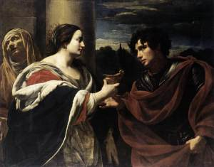 Simon Vouet - Sophonisba Receiving the Poisoned Chalice (1623)
