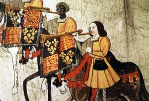 John Blanke, African trumpeter at the court of Henry VII