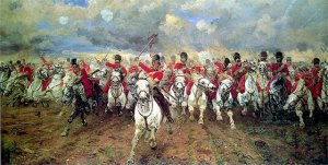 Redcoated Soldiers at Waterloo