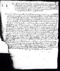 The Petition of John Howard of Chadderton, in which he complains he has to be away from his children
