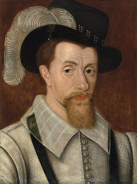 King James I and his beard
