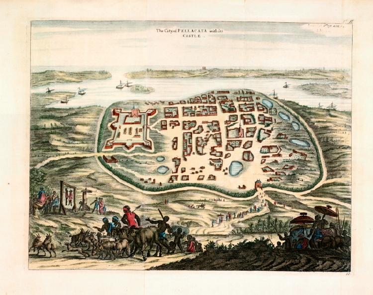 Pulicat in 1744