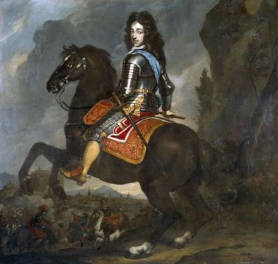 William of Orange kicking some French ass, 1672.