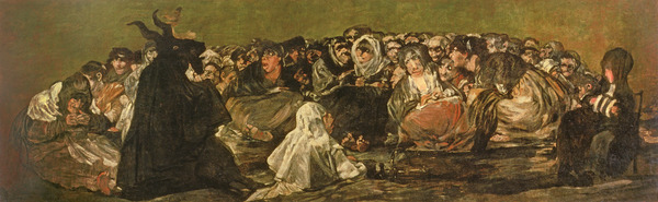 The Witches' Sabbath or The Great He-goat, (one of
